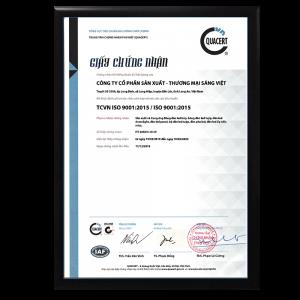 CHỨNG NHẬN QUẢN LÍ CHẤT LƯỢNG ISO 9001:2015